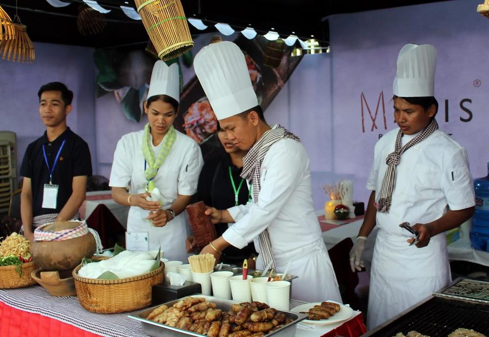 La cuisine khmère dignement représentée par Malis avec le chef Luu hong et son équipe