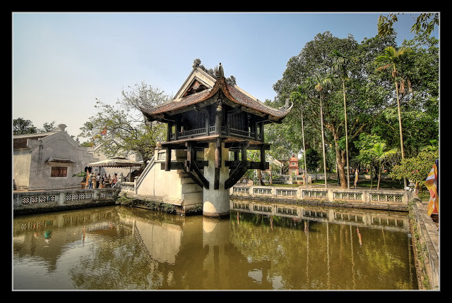 Hanoï - La pagode de Chùa Một Cột