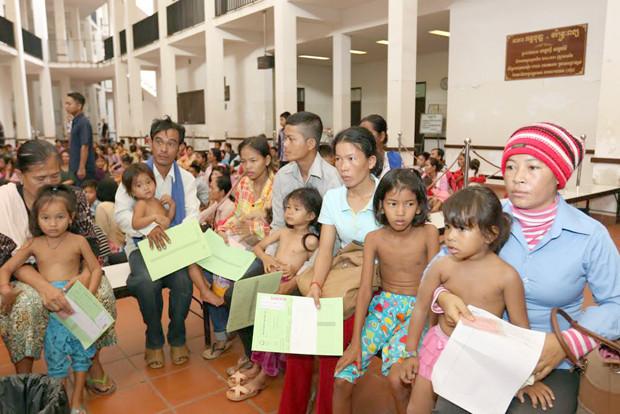 Kantha Bopha à Phnom Penh. Photo: Khem Sovannara