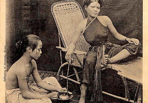 L'opium en Indochine