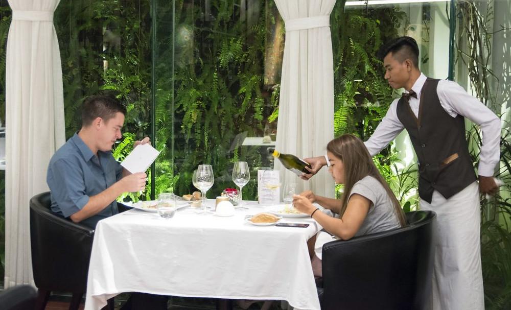 Topaz : Diner d'exception avec le chef étoilé Philippe Girardon