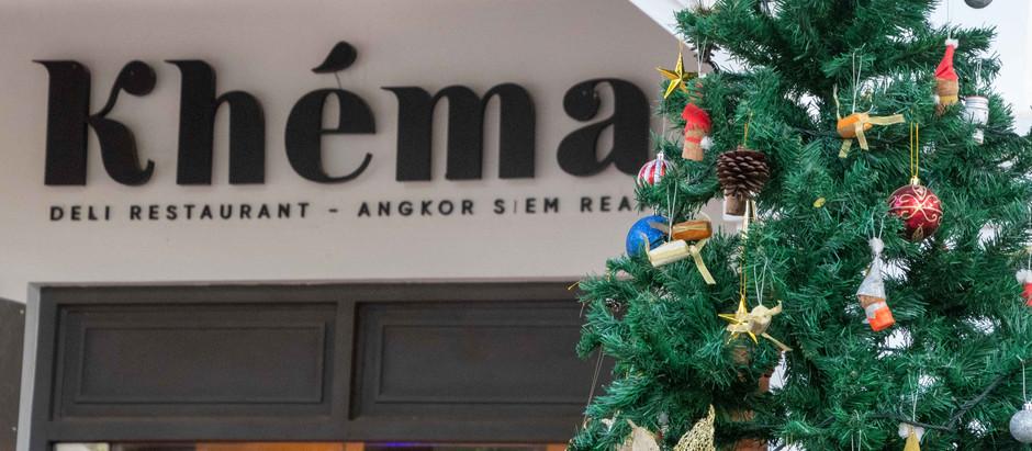 Siem Reap & Gastronomie : La magie de Noël s'installe au Khéma et au Malis