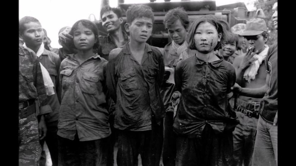 Les Khmers rouges persécutèrent également les membres des groupes ethniques minoritaires - les Chams, les chinois, et les vietnamiens qui avaient vécu pendant des générations dans le pays, et tous les autres étrangers, dans une tentative de créer un Cambodge «pur»