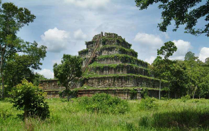 Koh Ker dans la province de Preah Vihear