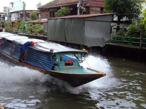 Phnom Penh – Circulation : Projet de bateaux -taxis