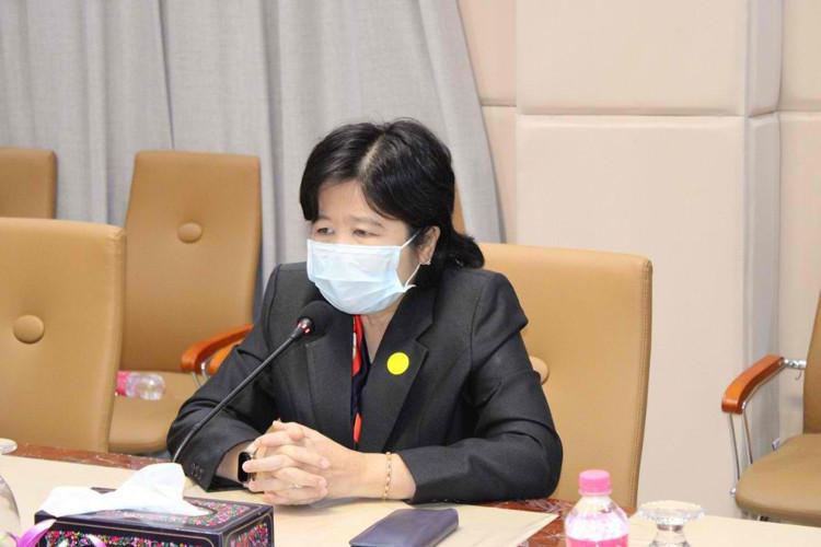Mme Or Vandine secrétaire d'Etat et porte-parole du ministère de la Santé