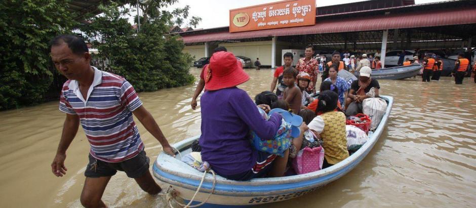 Actualité & Cambodge : 6 millions de $ pour les victimes des inondations