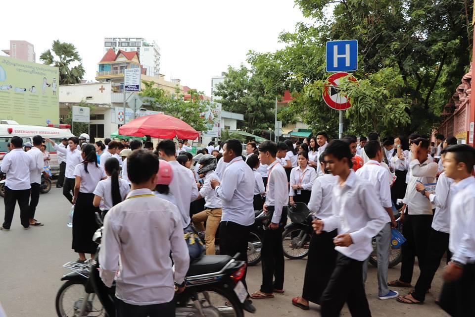 Le Cambodge compte actuellement 207 434 étudiants fréquentant les universités et les collèges