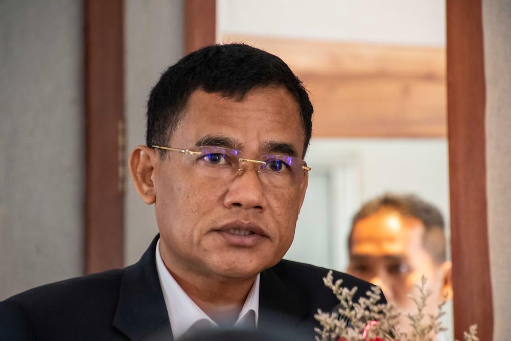 SE Pov Piseth, vice-gouverneur de Siem Reap