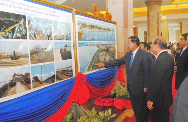 Inaugurations  à Chroy Changvar