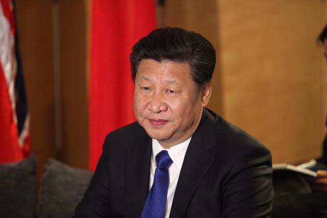 Le Président chinois, Xi Jinping. Photographie fournie