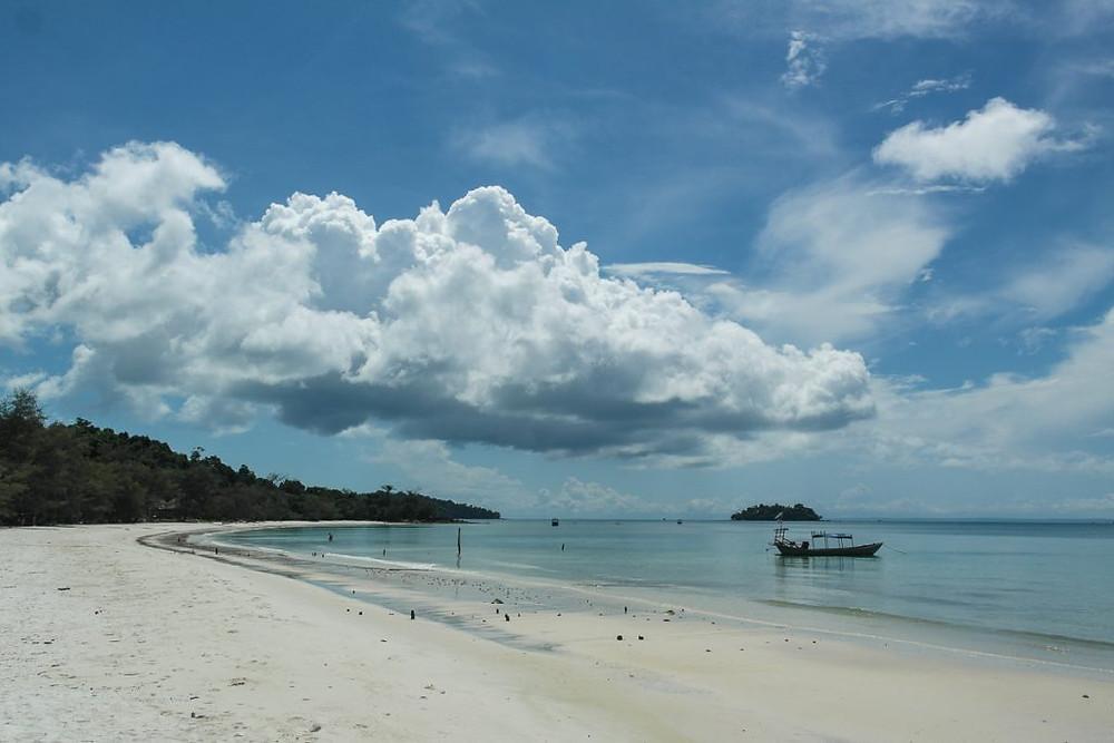 Premier parc national marin à Koh Rong