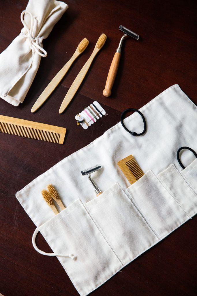 Bambou, coton et bois