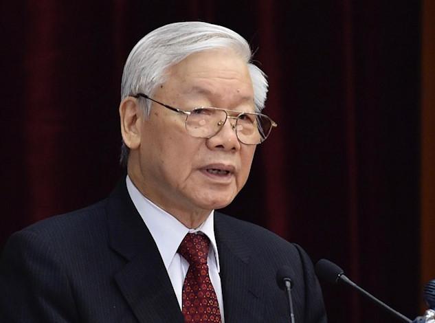 Le président vietnamien Nguyen Phu Trong