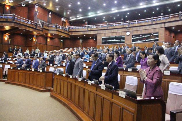 L'Assemblée nationale approuve l'amendement au Code de la route. Photographie AKP