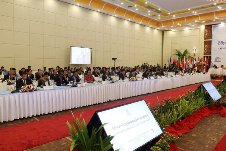 lancement officiel du Conseil culturel asiatique (CCA) à Siem Reap