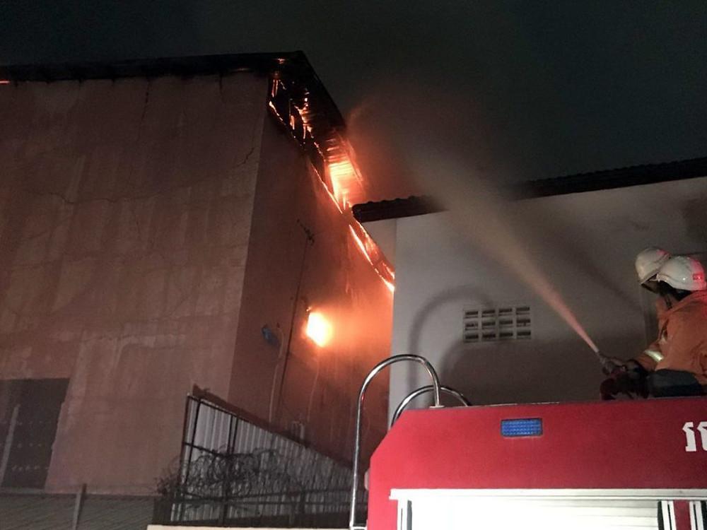 Incendie à la discothèque Rock Center