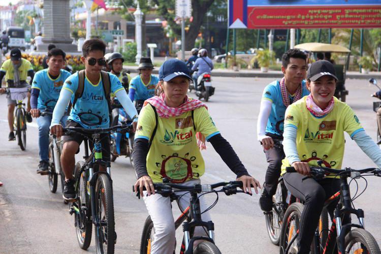 Courir pour les enfants malades à Siem Reap