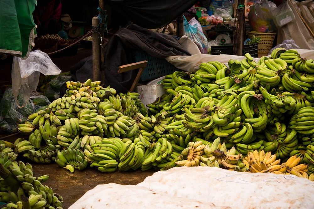 Bananes cambodgiennes vers la Chine. Photographie Jev 55 (cc)