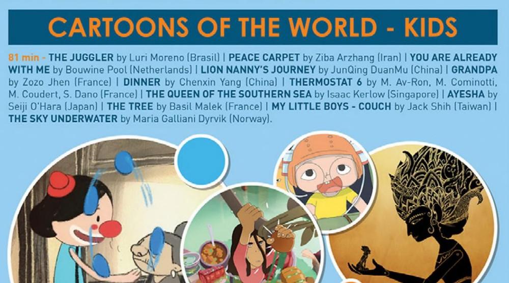 Cartoons of the world