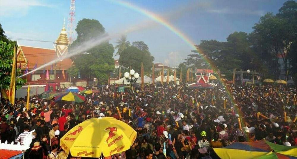 Le festival de Sankranta dans la province de Kampong Chhnang. Photo : Service provincial de l'Information.