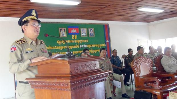 Le général Sok Phal, directeur général du département général de l'immigration