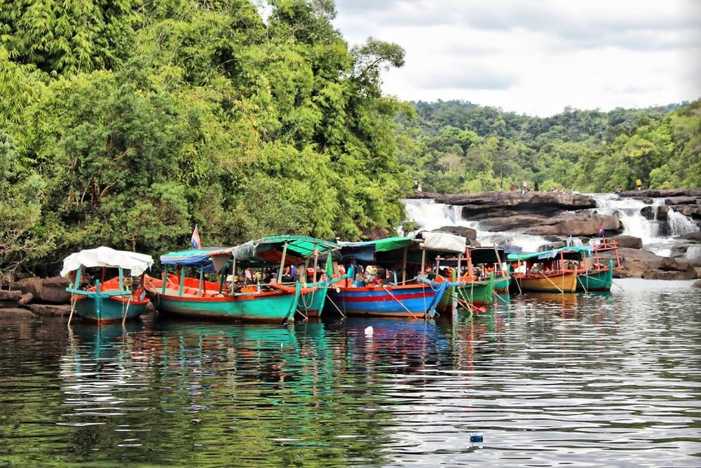 Les bateaux de la communauté Tatai
