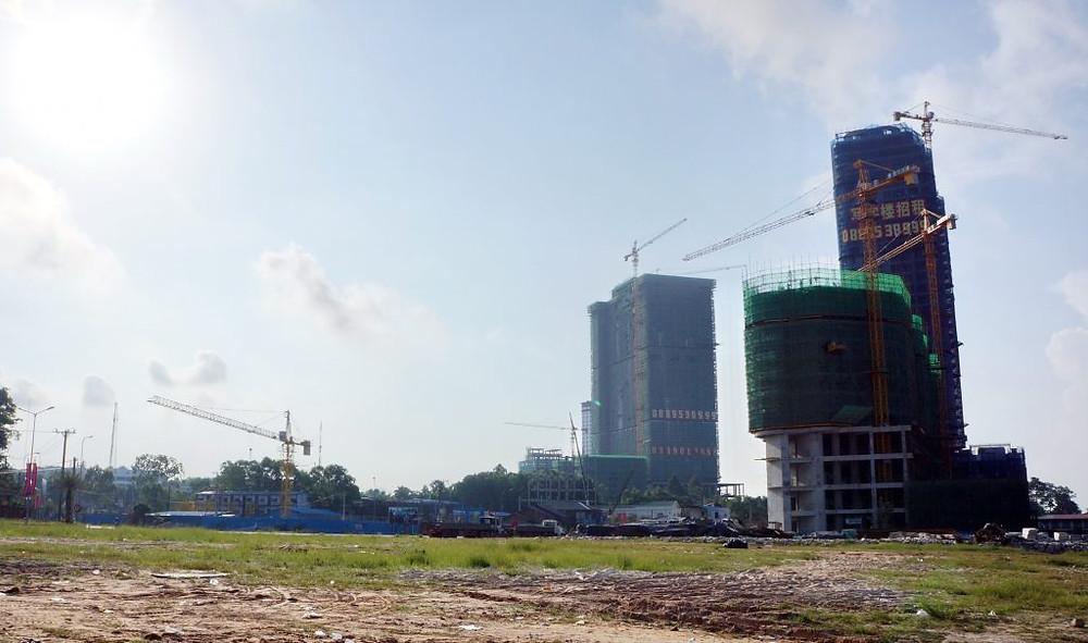 Constructions à Sihanoukville