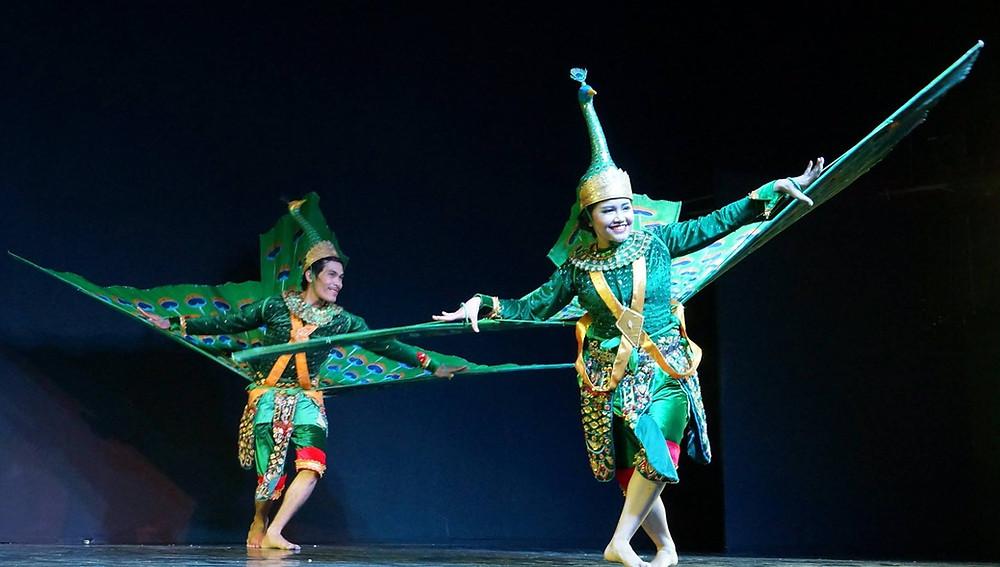 Robam Kngork Pailin ou la Danse du Paon de Pailin