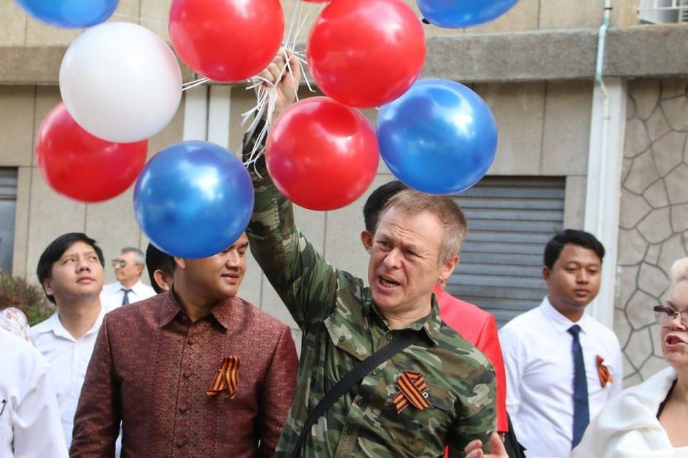 L'ambassade de Russie célèbre la fin de la ''Grande guerre patriotique''