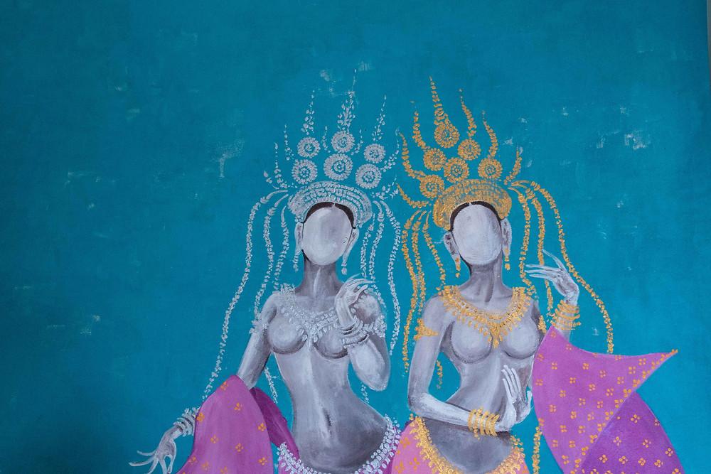 Din Teang Borin, la danse de l'art