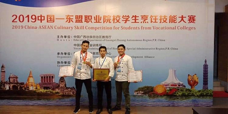 Le Cambodge remporte deux médailles dans une compétition culinaire en Chine