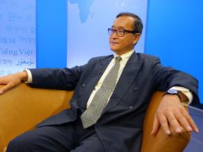 Politique : Sam Rainsy démissionne