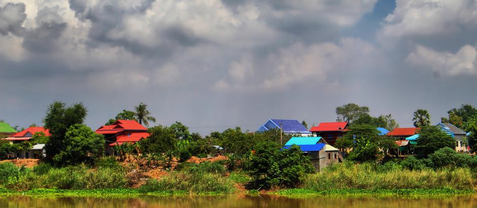 Cambodge & Balade : Déguster du buffle sur le Mékong