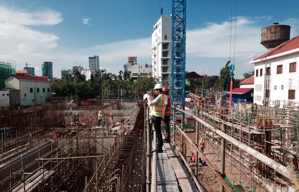 chantier actuel du projet de la station de Chamcar Mon (station)