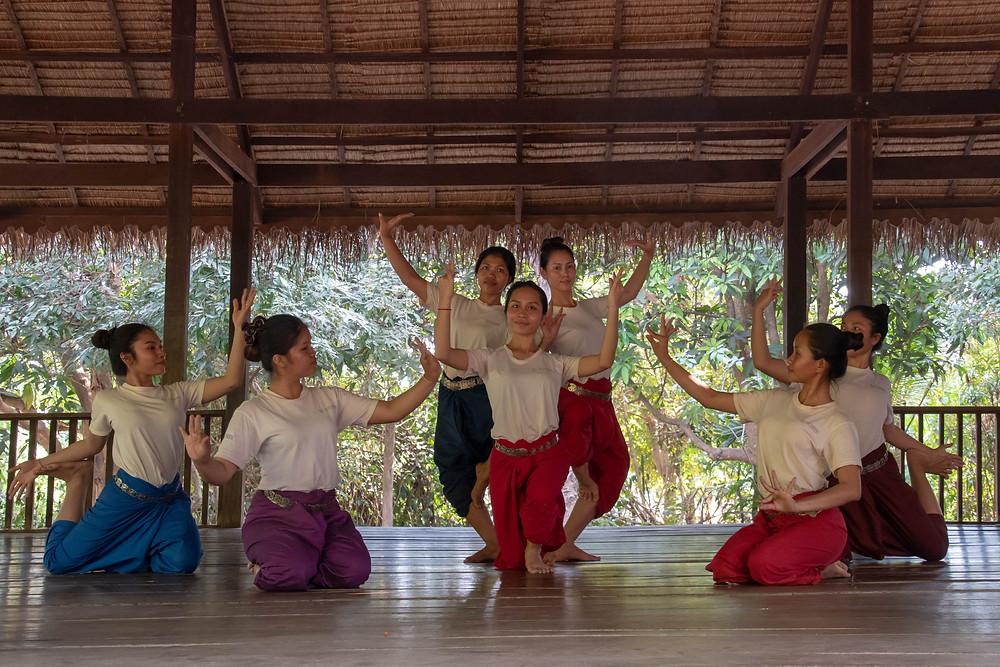 la troupe des Sacred Dancers of Angkor