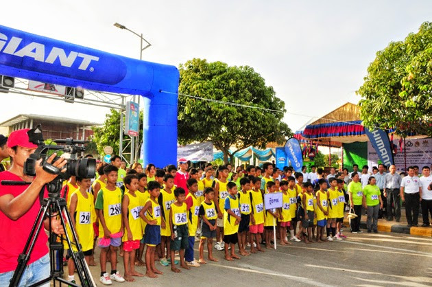 Participation des enfants. Photo: Sin Sareth