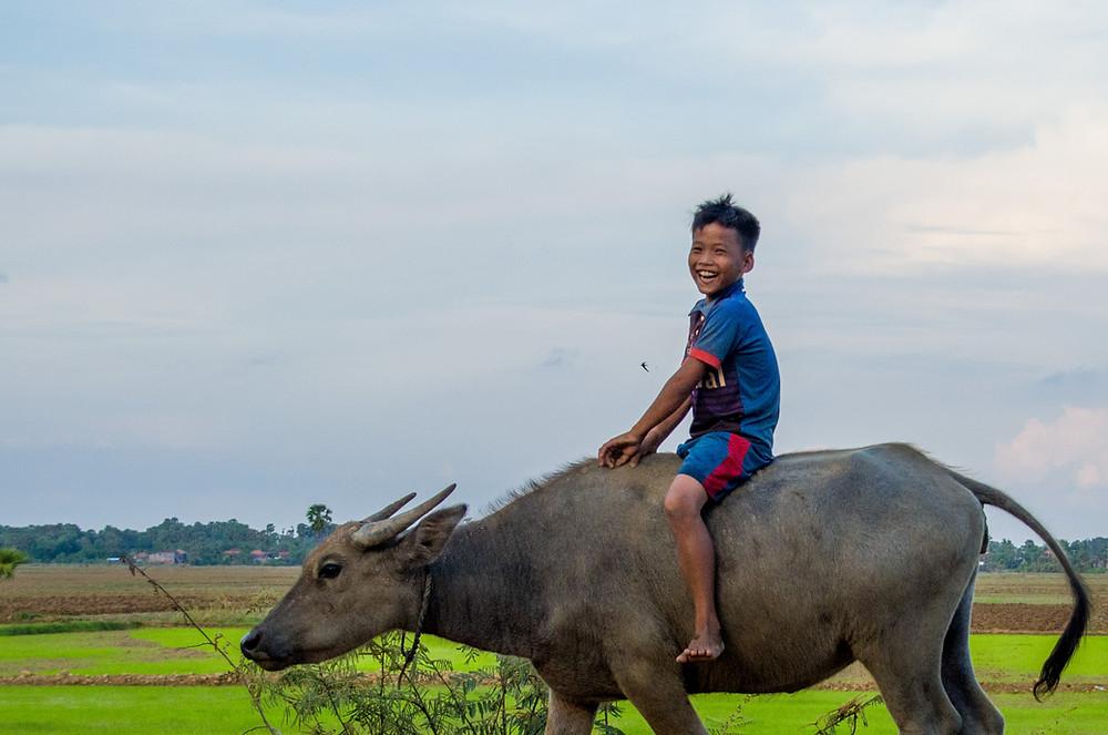 Cambodge, pays de terre et d'eau