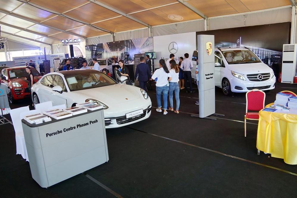 L'espace automobile de cet Eurofair 2018