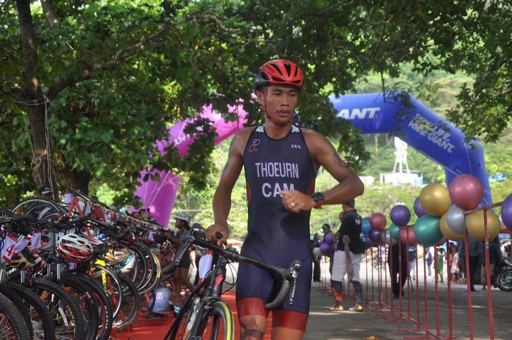 Le championnat national de triathlon la semaine prochaine à Kep