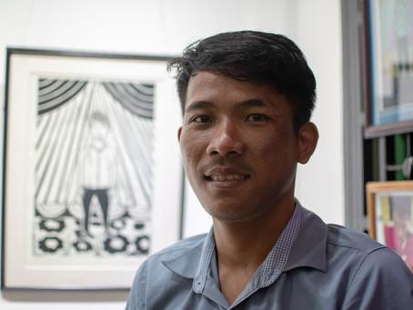Arts – Exposition – Siem Reap : The Space Between, Morn Chear, graver le quotidien