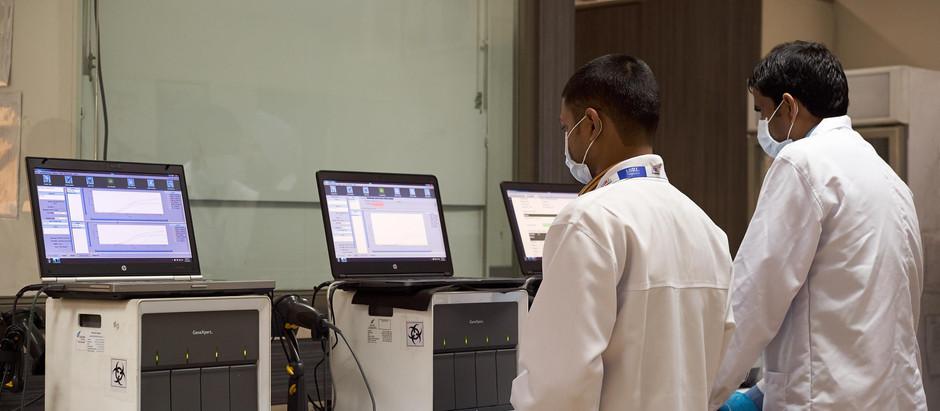 Siem Reap : Mise en service du laboratoire de dépistage du COVID-19