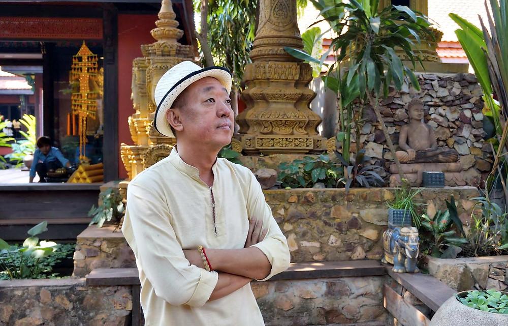 Lim Muy Theam, créateur de Theam's Gallery – La Galerie de Theam