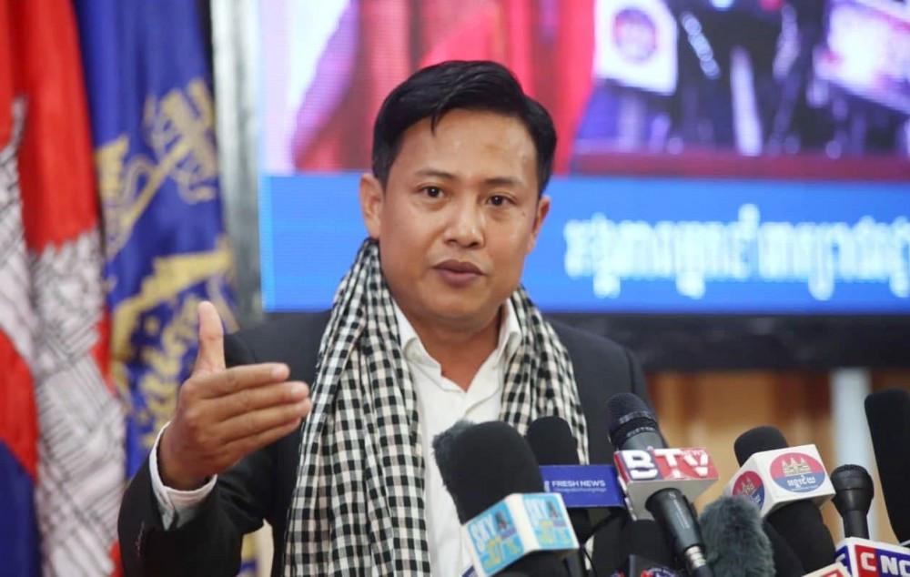Meas Sophorn, sous-secrétaire d'État et porte-parole du ministère