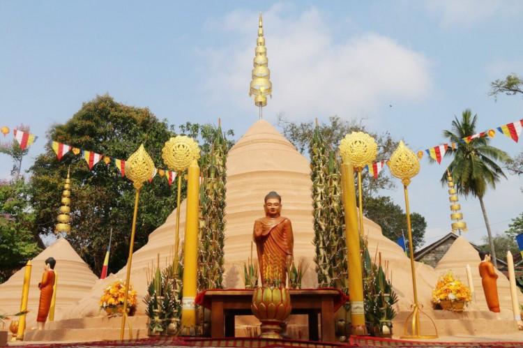 Angkor Sangkranta : Cérémonie de Poun Phnom Ksach