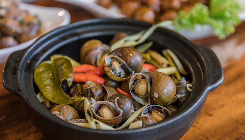 Escargots servis au «3Skills»
