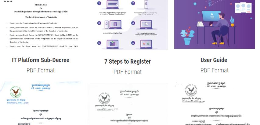Lancement de la phase 2 du système d'enregistrement des entreprises sur plate-forme informatique