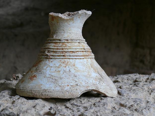 De nombreux objets ont été dégagés lors des fouilles, témoignant du mode de vie des habitants