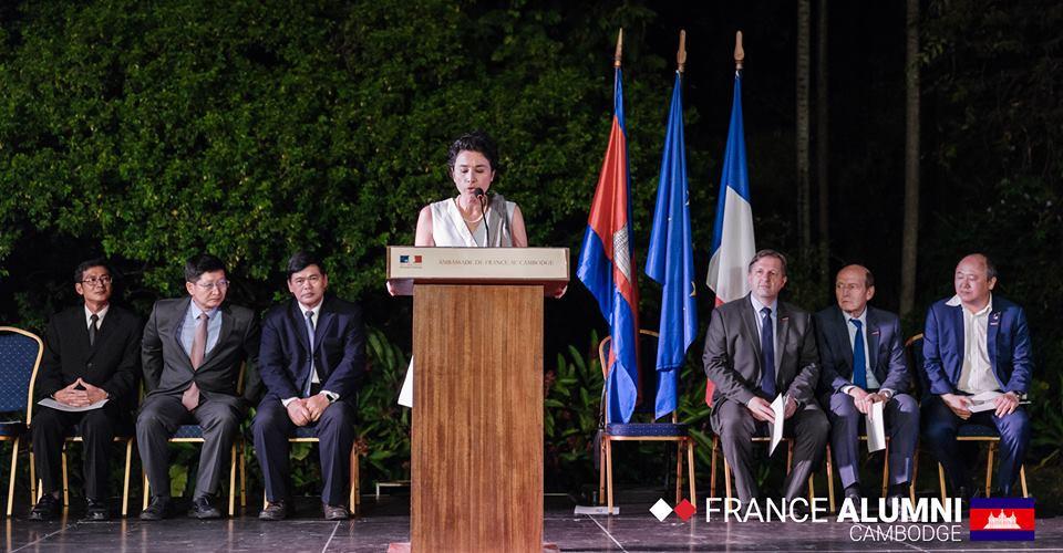 Excellence Eva Nguyen Binh, Ambassadrice de France au Cambodge