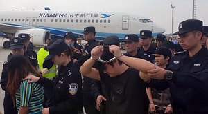 Expulsion de criminels chinois en 2019